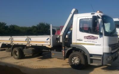 Merc Crane Truck